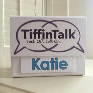 Using TiffinTalk to Spark Meaningful Conversations